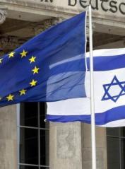 Drapeaux-UE-Israel