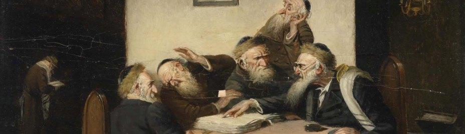Carl_Schleicher_Eine_Streitfrage_aus_dem_Talmud_1600x565_Med